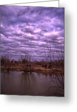 Moody Day Greeting Card by Kelly Kitchens