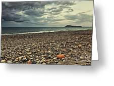 Moody Landscape Greeting Card