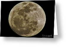 Moody Moon Greeting Card