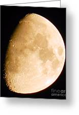 Moon Craters Galore Greeting Card