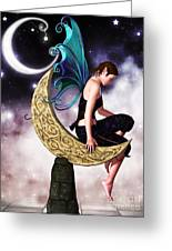 Moon Fairy Greeting Card
