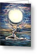 Moon Goddess Greeting Card
