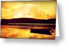 Moon Landscape Greeting Card