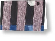 Moon Light Greeting Card