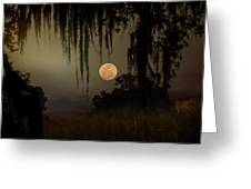 Moon Mists Greeting Card