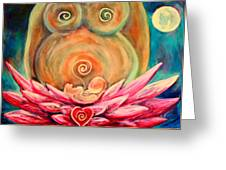 Moon Mother Greeting Card