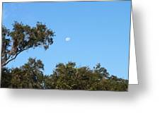 Moon Over Brandon Greeting Card