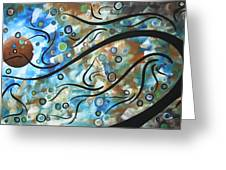 Moon Spell By Madart Greeting Card