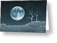 Moon Worship Greeting Card