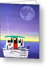 Moonbeam Greeting Card
