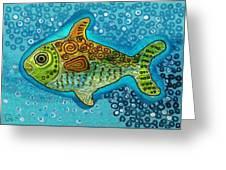 Moonfish Greeting Card