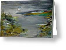 Moonlight Bay Greeting Card