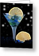 Creative - Moonlight Dark Star Cocktail Lemon Flavoured 1 Greeting Card