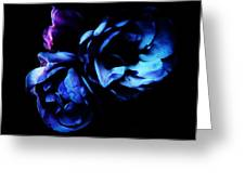 Moonlight Rose Greeting Card