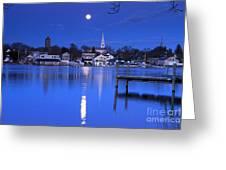 Moonrise 1 Greeting Card