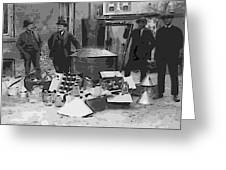Moonshine Still Prohibition 1922 Greeting Card