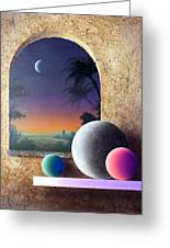 Moonview Greeting Card
