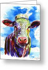 Moooo Greeting Card