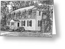 Moore House In Yorktown Virginia Greeting Card