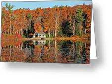 Moore State Park Autumn I Greeting Card