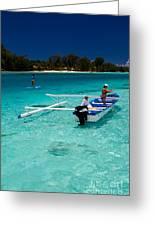 Moorea Lagoon No 12 Greeting Card