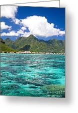 Moorea Lagoon No 2 Greeting Card