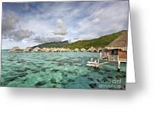 Moorea Lagoon Resort Greeting Card