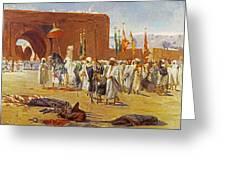 Moorish Procession Greeting Card