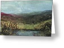 Moorland View 2 Greeting Card