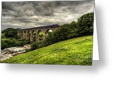 Moorswater Viaduct  Greeting Card