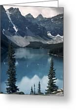 Morain Lake Greeting Card