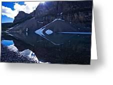 Moraine Lake #4 Greeting Card