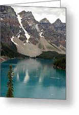 Moraine Lake - Alberta - Canada Greeting Card