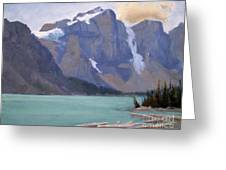 Moraine Lake Banff Greeting Card