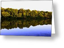 Moraine View State Park Pano 20140718-01 Greeting Card