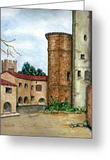 Morcone  Greeting Card by Pamela Allegretto