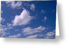 More Clouds Greeting Card
