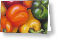 More Peppers Greeting Card