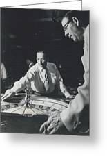 More Roulette Whereas Spin In Las Vegas Than In Monte Carlo Greeting Card