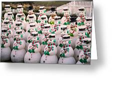 More Snowmen Greeting Card