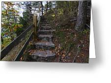 More Stairs Greeting Card