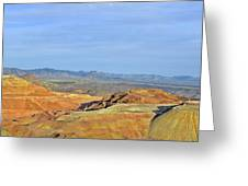 Morenci - A Beauty Of A Copper Mine Greeting Card