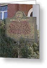 Morgan County Greeting Card