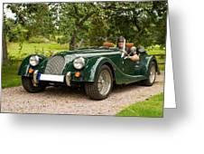 Morgan Roadster Greeting Card