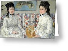 Morisot's The Sisters Greeting Card