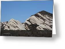 Morman Rocks Greeting Card