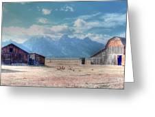 Morman Row Greeting Card