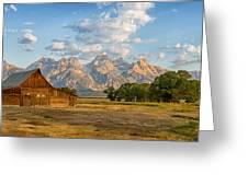 Mormon Row Farm Greeting Card