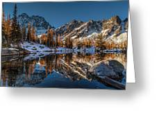 Morning At Horseshoe Lake Greeting Card by Mike Reid