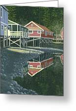 Morning At Telegraph Cove Greeting Card
